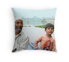 My Water Taxi Drivers Throw Pillow
