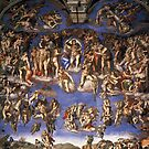 Michael Angelo Sistine Chapel Painting by picky62version2
