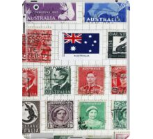 Stamps from Australia iPad Case/Skin