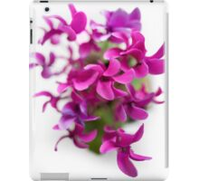 Cyclamen in vivid purple iPad Case/Skin