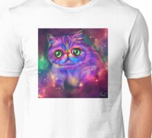 Rainbow kitty Unisex T-Shirt