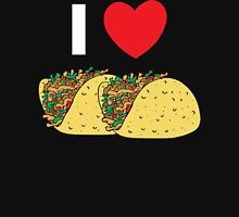 I Love Tacos Womens Fitted T-Shirt