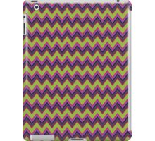 Peridot, Purple and Gray Chevron Stripes iPad Case iPad Case/Skin
