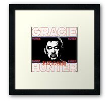 the gracie hunter Framed Print
