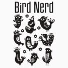 Bird Nerd - black by Andi Bird