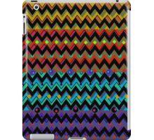 Funky Chevrons, Colorful iPad Case iPad Case/Skin