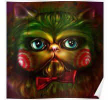 Jigsaw Kitty Poster