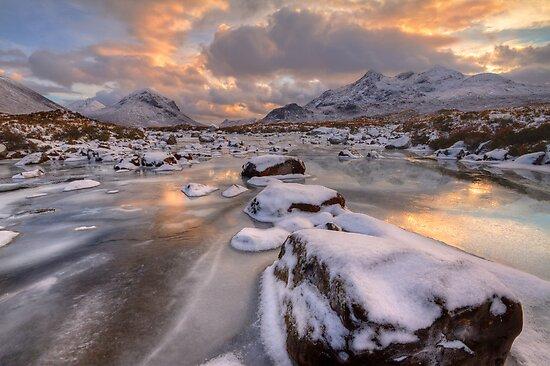 Sligachan at Christmas. Isle of Skye. Scotland. by photosecosse /barbara jones