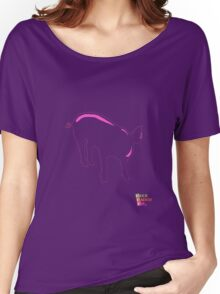 Pig iPAD Women's Relaxed Fit T-Shirt