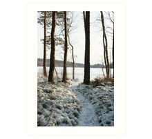 Store Mosse in the winter Art Print