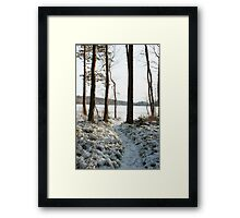 Store Mosse in the winter Framed Print