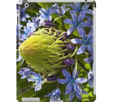 Green and Blue Flower iPad Case iPad Case/Skin