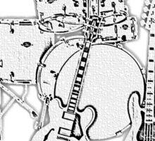 Wonderful Got Band Sticker