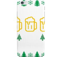 Merry Christmas and A Happy New Beer iPhone Case/Skin