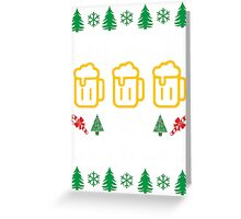 Merry Christmas and A Happy New Beer Greeting Card