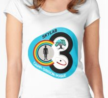 Skylab 3 (SL-4) Mission Logo Women's Fitted Scoop T-Shirt