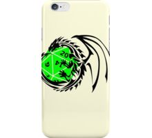 Dungeons and Dragons - Black and Green! iPhone Case/Skin
