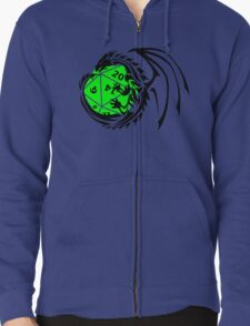 Dungeons and Dragons - Black and Green! T-Shirt