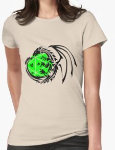 Dungeons and Dragons - Black and Green! Womens Fitted T-Shirt
