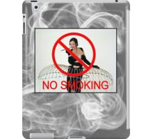 No Smoking Please iPad Case/Skin