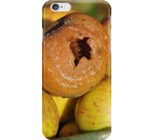 Bad apple in the basket iPhone Case/Skin