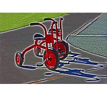 Trikes Photographic Print