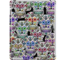 Day of the Dead, Dia de los Muertos, Sugar Skulls iPad Case iPad Case/Skin