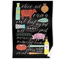 I Ragu, Do You? Poster