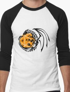 Dungeons and Dragons - Black and Orange! Men's Baseball ¾ T-Shirt