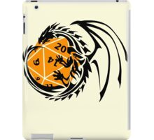 Dungeons and Dragons - Black and Orange! iPad Case/Skin