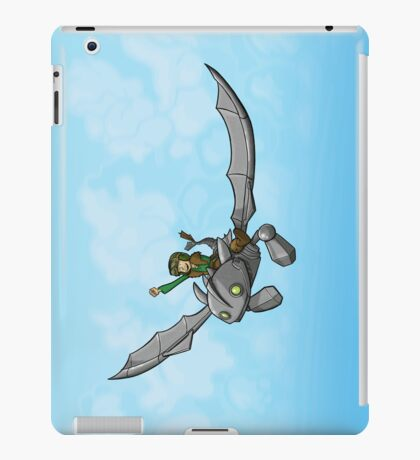 Flying Friends #1: How To Train Your Giant iPad Case/Skin