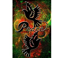 PEACE ~ CHRISTMAS Photographic Print