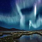 Aurora over Sweden by SOIL