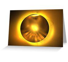 Caramel Sun Greeting Card