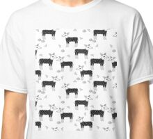 Deer Sweaters BW - by Andrea Lauren  Classic T-Shirt