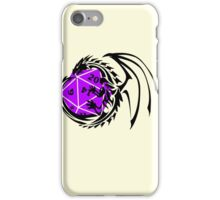 Dungeons and Dragons - Black and Purple! iPhone Case/Skin