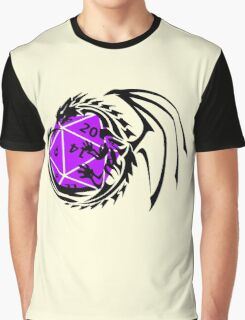 Dungeons and Dragons - Black and Purple! Graphic T-Shirt