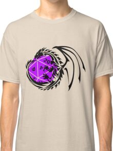 Dungeons and Dragons - Black and Purple! Classic T-Shirt