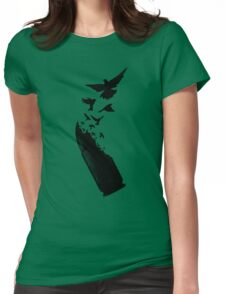 Bullet Birds Womens Fitted T-Shirt