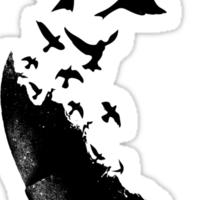 Bullet Birds Sticker