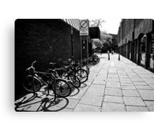 City Cycles Canvas Print