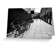 City Cycles Greeting Card