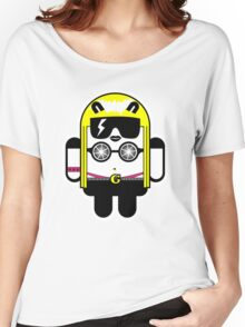Lady Gaga goes Google Android Style!  Women's Relaxed Fit T-Shirt
