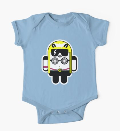 Lady Gaga goes Google Android Style!  One Piece - Short Sleeve