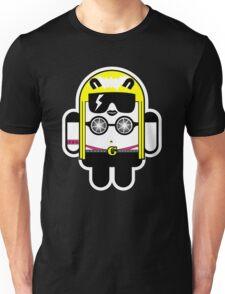 Lady Gaga goes Google Android Style!  Unisex T-Shirt
