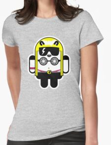 Lady Gaga goes Google Android Style!  Womens Fitted T-Shirt
