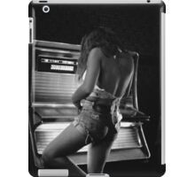 Juke Box Gal iPad Case/Skin