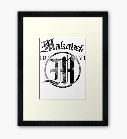 Makaveli 1971 Framed Print