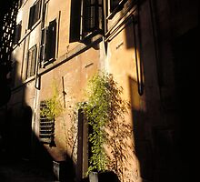 Trastevere -Ipad case by Sandro Rossi