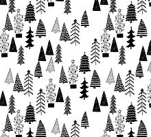 Forest BW - by Andrea Lauren  by Andrea Lauren
